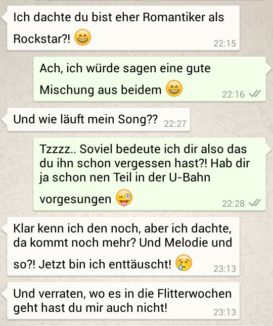 whatsapp flirt